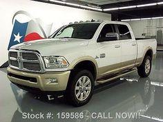 Dodge: Ram 2500 LONGHORN CREW 4X4 DIESEL NAV 2016 dodge ram 2500 longhorn crew 4 x 4 diesel nav 19 k mi 159586 texas direct