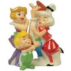 The Jetsons Family Salt and Pepper Shaker Set - Westland Giftware - Jetsons - Kitchenware at Entertainment Earth