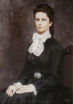 Portrait of Empress Elisabeth