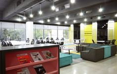 Coworking Space - NEVERMIND, Guadalajara, Mexico - i love the gray ceiling