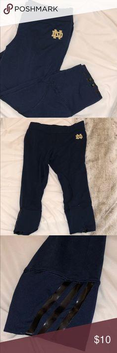e0d178e4de2d5 Notre Dame Capri Leggings Super soft capri leggings Gently worn adidas  Pants Leggings