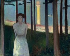 possibly my favorite edvard munch  one of mine too, totally led me in another direction in my painting and composition