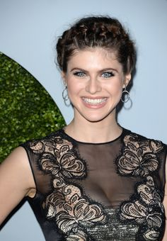 Actress Alexandra Daddario attends the 2014 GQ Men Of The Year party at Chateau Marmont on December 4, 2014 in Los Angeles, California. - Photo 2