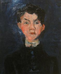 Soutine - Portrait of a boy