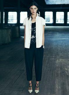 ALLSAINTS Spring 2014. Womenswear. Look 6. #ALLSAINTSNYFW