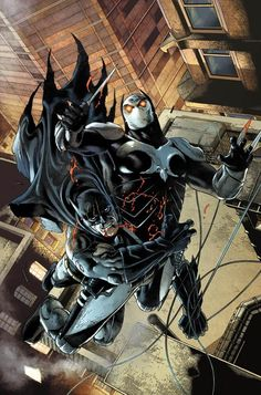 Batman vs Talon, Brother to Brother, Bruce Wayne vs Thomas Wayne Jr. by Andy Clarke & Tomeu Morey
