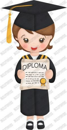 Graduacion On Pinterest Graduation Clip Art And