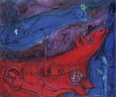 """Dallas Museum of Art is only U.S. venue to host Chagall exhibition"" via dallasnews.com"