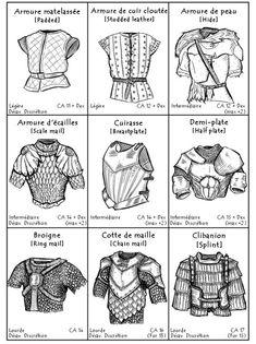 Armadura Medieval, Fantasy Armor, Fantasy Weapons, Medieval Armor, Medieval Fantasy, Medieval Gown, Dnd Characters, Fantasy Characters, Design Reference