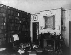 Ralph Waldo Emerson's study.