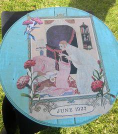 Beautiful Shaker Box With 1927 Image by GardenofPleasantries, $15.00
