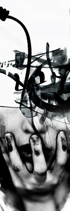 """""""Most of us go through each day looking for what we saw yesterday And, not surprisingly, that is what we find."""" ― James A. Kitchens (Abstract Girl by Antonio Mora)"""