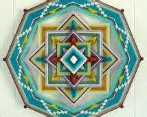 ... lana, 16 pollici, 8-parteggiato Ojo de Dios, di ordine personalizzato