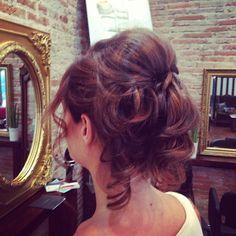 ONDA Hair & Beauty - Hair up by the Onda stylist director Piero Zattera www.ondasalon.com
