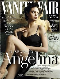 Angelina Jolie poses for Vanity Fair (Italy) June 2015 Angelina Jolie Photoshoot, Angelina Jolie Style, Vanity Fair Magazine, Fashion Magazine Cover, Magazine Covers, Magazine Photos, Italy Magazine, Dior, Editorial