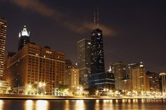 Chicago  i Sears Tower Chicago - Illinois - USA #Chicago #Illinois #USA #photography #city #Polacy_w_USA #Polonia #wietrzne #miasto #windy #city