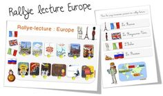 Bout de gomme - Rallye lecture Europe