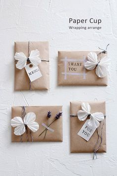Dress your birthday and christmas gifts using these gift wraps. Choose from candy, token of appreciation baggage, bows, laces and ribbons and more. Creative Gift Wrapping, Present Wrapping, Creative Gifts, Diy Gift Box, Diy Gifts, Handmade Gifts, Gift Tags, Christmas Wrapping, Christmas Gifts
