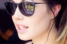 60830205d0 Ray Ban Erika matte black LOVE THESE!!! Ray Ban Erika Sunglasses
