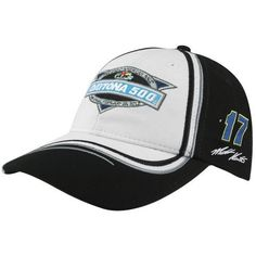 NASCAR Chase Authentics Matt Kenseth 2012 Daytona 500 Champion Adjustable Hat - Black/White by Football Fanatics. $24.95. Chase Authentics Matt Kenseth 2012 Daytona 500 Champion Adjustable Hat - Black/WhiteQuality embroideryAdjustable hook and loop fastener strapStructured fitOne size fits mostOfficially licensed NASCAR productImported55% Cotton/45% Polyester55% Cotton/45% PolyesterStructured fitQuality embroideryAdjustable hook and loop fastener strapOne size fits mo...