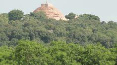 Sanchi stupa 1 from fields nearby