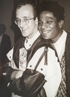 Keith Haring & Jean-Michel Basquiat...