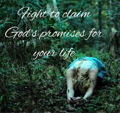 Fight to claim God's promises for your life