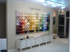 little greene showrooms on pinterest showroom window displays and paris. Black Bedroom Furniture Sets. Home Design Ideas