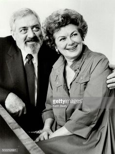 Raymond Burr and Barbara Hale, above, on the set of the original Perry Mason series in and below, during filming of their new movie in Toronto. Get premium, high resolution news photos at Getty Images Mason Raymond, Raymond Burr, Hollywood Actor, Classic Hollywood, Perry Mason Tv Series, Best Tv Couples, Celebrities Then And Now, Celebrity Portraits, Classic Movies