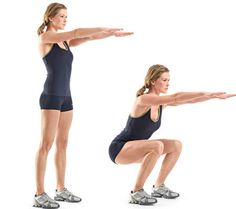 Try These 7 Different Squats for a Perkier Butt!