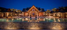 Nandana Villa aux Bahamas : grand luxe et intimité