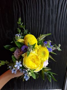 yellow bouquet by jasmin