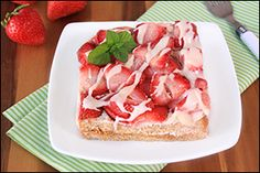 Hungry Girl's Glazed Strawberry French Toast Casserole - Point Plus value = 9 for 1/4 of the dish.