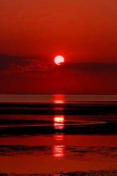 Sunset ~ Flaming Orange
