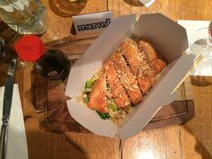 Eating in Edinburgh, breakfast, lunch & dinner - six out of ten - Chicken Katsu Curry - street food style