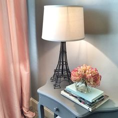 """Parisian dreams  we love a romantic flair in bedrooms. Adding floral arrangements and dim lighting is a nice way to keep things flirty ☺️#egl #egl2014…"""