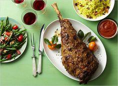 Three Leg of Lamb Recipes: Yogurt Marinated, Herb Paste, and Moroccan Spice Dry Rub