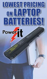 Does your laptop have you tied down due to a useless battery? Supercharge your laptop for the road with a new Battery from  Micro Center. We have batteries for over 400 units. check for yours here: http://microcenter.drbattery.com/