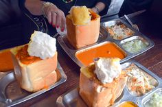 Bunny CHow originated in Durban but has spread all over South Africa.