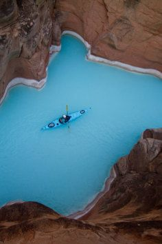 Havasu Creek is a stream in the U.S. state of Arizona associated with the Havasupai people.