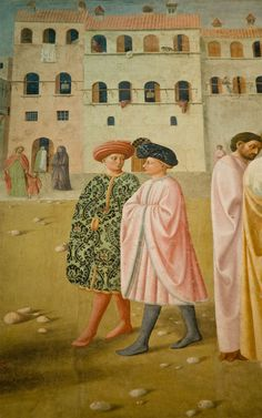 Brancacci Chapel - Masolino da Panicale (Detail)