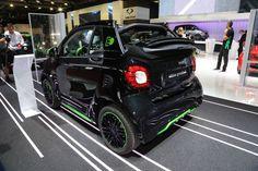 Smart Fortwo Electric Drive : l'électrique fait ses débuts au Mondial
