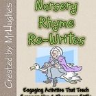 Nursery Rhymes are NOT just for the young ones anymore! This twist on those old rhymes that most students haven't heard anymore is a sure winner as...