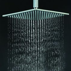 """12"""" brass shower head with color changing LED lights.....must have one of these in every bathroom"""