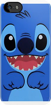 Stitch iPhone Case by Bronydragon