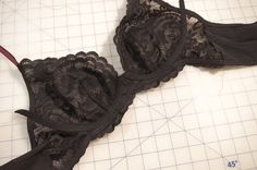 The Sewing and Life Adventures of Emerald Erin: Bra Theory [BAW7]: How to make a Lace Frame Bra