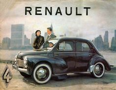 """1954 Renault 4CV.  I had one of these back in the 70's.  The kids called it 'the Knowles Rolls""""."""