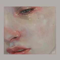 Dreamy eyes shared by ~ Miss Mikaela ~ on We Heart It Watercolor Portraits, Watercolor Art, Chino Anime, Art Sketches, Art Drawings, Korean Art, Pretty Art, Art Sketchbook, Portrait Art