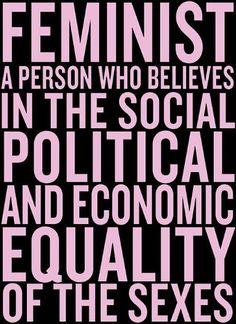 Feminist definition - Chimamanda Ngozi Adichie #feMENism #feminism