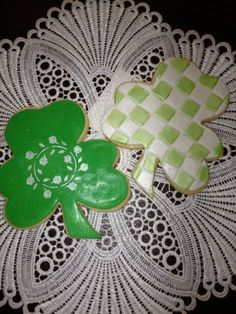 St. Patrick's day  Baked to aTea